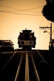 Téléphérique de San Francisco dans Seph Photo libre de droits