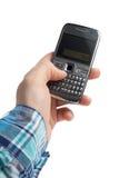 Téléphone à disposition Image stock