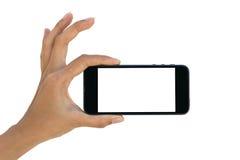 Téléphone à disposition Photographie stock libre de droits