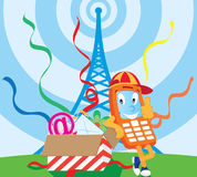 T?l?phone Illustration Libre de Droits