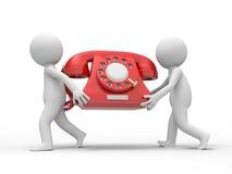 Téléphone illustration de vecteur