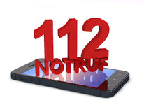 Téléphone 112 Photos libres de droits