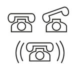 téléphone Photos stock