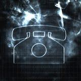Téléphone abstrait illustration stock