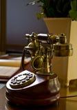 Téléphone antique Photographie stock libre de droits