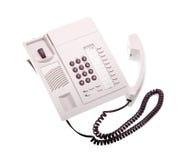Téléphone avec le récepteur hors fonction Images stock