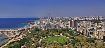 Téléphone Aviv Beach Image libre de droits