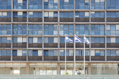 Téléphone Aviv City Hall Image stock