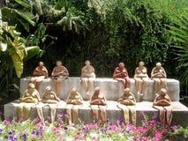Téléphone Aviv Neve Tsedek femmes en mai 2005 en céramique Photographie stock libre de droits
