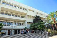 Téléphone Aviv University photo libre de droits
