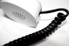 Téléphone blanc Photos libres de droits