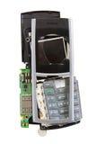 Téléphone cassé Image libre de droits