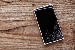 Téléphone cassé Photo stock