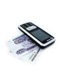 Téléphone d'affaires Image stock