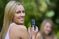 Téléphone d'appareil-photo Image stock