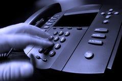 téléphone d'appel d'affaires Photos libres de droits