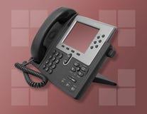 Téléphone d'entreprise constituée en société photos stock