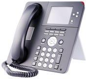 Téléphone d'IP sur le blanc Image libre de droits