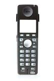 Téléphone d'isolement au-dessus du fond blanc Images stock