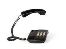Téléphone d'isolement sur le blanc Photographie stock libre de droits