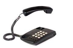 Téléphone d'isolement sur le blanc Images libres de droits