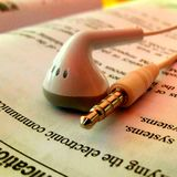 Téléphone d'oreille Photo libre de droits