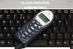 Téléphone d'USB de VoIP Image libre de droits