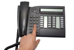 Téléphone de bureau Images libres de droits