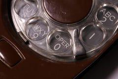 Téléphone de cadran rotatoire Photos libres de droits