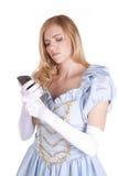 Téléphone de Cendrillon photo libre de droits