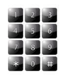 téléphone de clavier Images stock