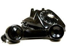 Téléphone de cru Photo stock