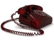 téléphone de ligne terrestre illustration stock