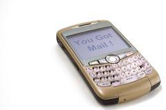 téléphone de mûre Photos stock