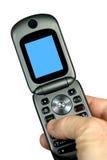 téléphone de main de cellules Photo libre de droits