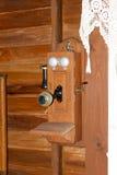 Téléphone de mur de vintage Photo libre de droits