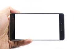 Téléphone de participation d'homme Photos libres de droits