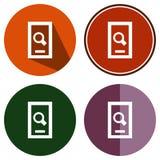 Téléphone de recherche Images libres de droits