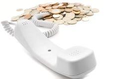 téléphone de revenu Photos libres de droits