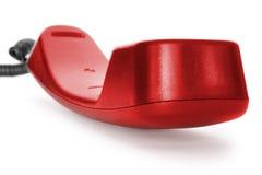 téléphone de rouge de crochet images libres de droits