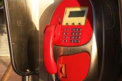 Téléphone de rue Image stock