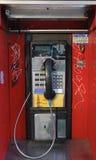 Téléphone de salaire Photographie stock