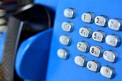 Téléphone de salaire public Images libres de droits