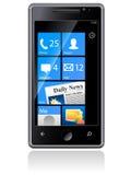 Téléphone de Samsung Omnia Photographie stock libre de droits
