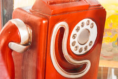 Téléphone de vintage Photographie stock