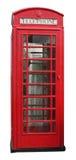 téléphone des anglais de cabine Photo stock