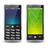Téléphone deux Image libre de droits