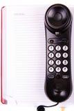 Téléphone et notes photos stock