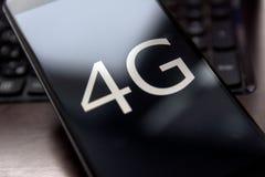 téléphone 4g Image stock