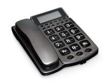 Téléphone gris Photographie stock